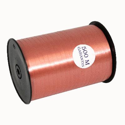 5mm x 500m Curling Ribbon Light Terracotta (Special Net Price) - Clearance